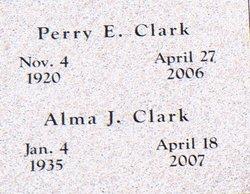 Alma J <i>Guffey</i> Clark