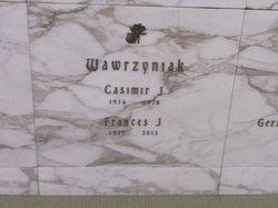 Frances J. <i>Juraszek</i> Wawrzyniak