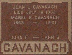 John F Cavanagh