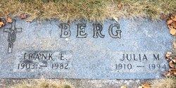 Frank E Berg