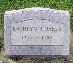 Kathryn Theresa <i>Reilly</i> Oakes