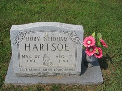 Ruby <i>Stidham</i> Hartsoe