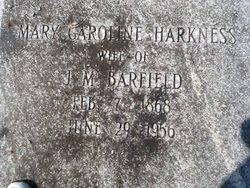Mary Caroline <i>Harkness</i> Barfield