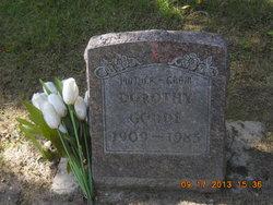 Dorothy Godde