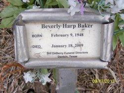 Beverly Leigh <i>Harp</i> Baker