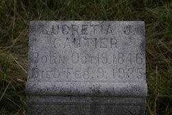 Lucretia Jane <i>Lewis</i> Gautier