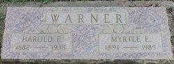 Myrtle Elizabeth <i>Franklin</i> Warner