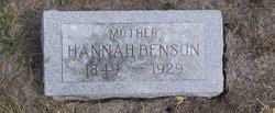 Hanna Andersdotter <i>Rosen</i> Benson