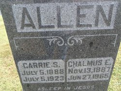 Carrie Sterling <i>Rice</i> Allen