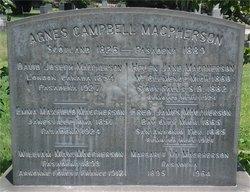 Agnes <i>Campbell</i> MacPherson
