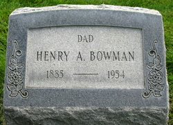 Henry Alfred Bowman