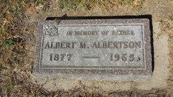 Albert M. Albertson