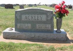 Mildred Louise <i>Burt</i> Ackley