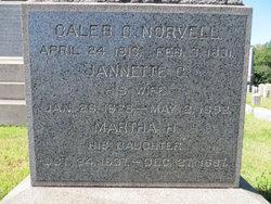 Ann Jannette <i>Gordon</i> Norvell