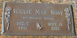 Willie Mae Bost