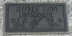 Jeffrey Lynn Jeff Lansdowne
