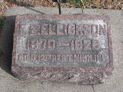 Franklin Edward Ellickson