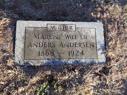Maren <i>Jensen</i> Andersen