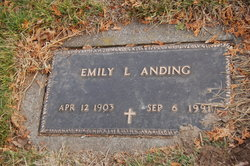 Emily L. <i>Wall</i> Anding