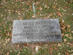 Mills Brown
