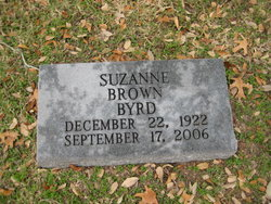Suzanne <i>Brown</i> Byrd