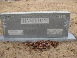 John W Hamilton