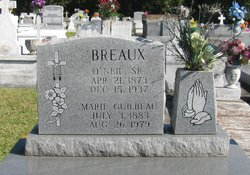 Marie <i>Guilbeau</i> Breaux