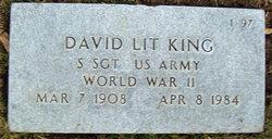 Sgt David Lit King
