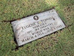 Pvt Eugene D. Tophoj
