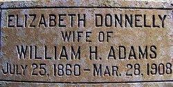 Elizabeth <i>Donnelly</i> Adams