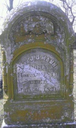Maj Josiah J. Mann