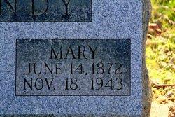 Mary Ann <i>Spencer</i> Bundy