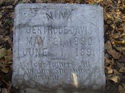 Nina Gertrude Davis