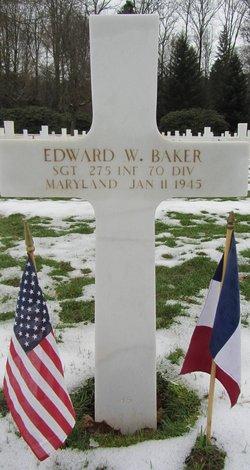 Sgt Edward W Baker