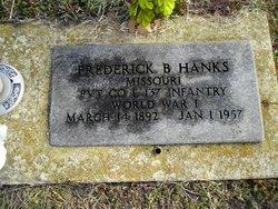 Frederick Burkey Hanks