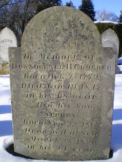 Deacon Shubael Hamblen Crocker