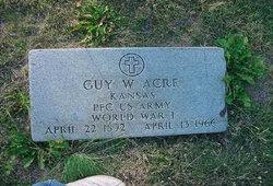 Guy Wilbur Acre