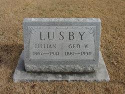 Lillian <i>Taylor</i> Lusby