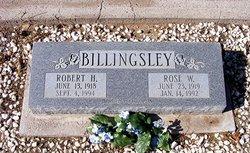 Rose June <i>Wesson</i> Billingsley