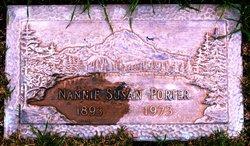 Nannie Susan <i>MartinNov.</i> Porter