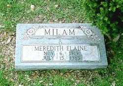 Meredith Elaine Milam