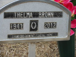 Thelma Polly <i>Ragsdale</i> Brown