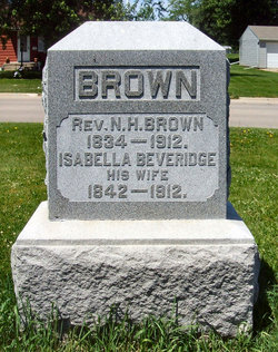 Isabella A <i>Beveridge</i> Brown