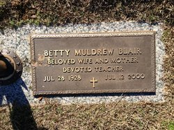 Betty <i>Muldrew</i> Blair