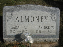 Sarah A. <i>Bupp</i> Almoney