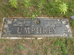 Paul Eugene Tubby Umphrey, Sr
