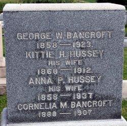 Anna P <i>Hussey</i> Bancroft