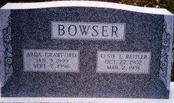 Elsie Laura <i>Reitler</i> Bowser