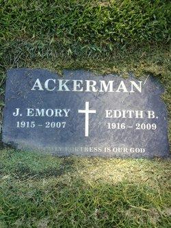 Julius Emory Ackerman