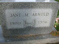 Jane M <i>Carl</i> Arnold